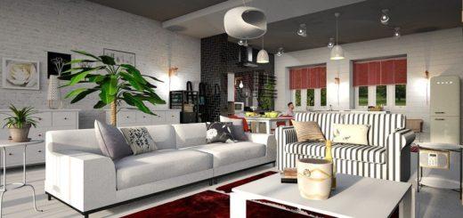 Jak zakomponovat červenou do bytového designu